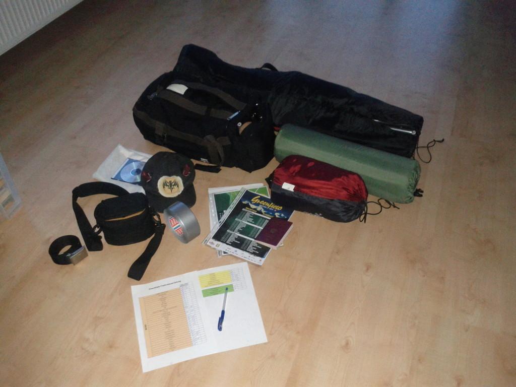 Ausrüstung Greenfield 2013